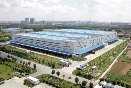 JD.com's highly automated Asia No. 1 warehouse in Shanghai